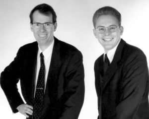 Bernd Zoller & Stefan Seidel im Gründungsjahr 1992