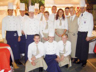 Köche und Service-Team der PartyCompany
