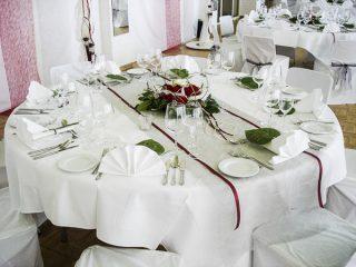 Hochzeitstisch der PartyCompany