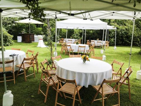 Gartenparty mit der PartyCompany